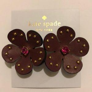 Kate Spade Blooming Bling Earrings NWT